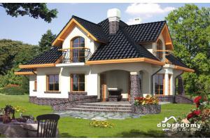 Projekt domu Ariadna I