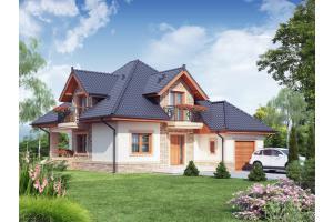 Projekt domu Fabio